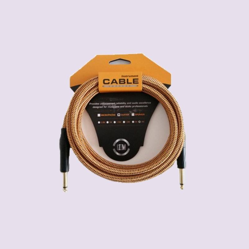 Leem FGC-1-5 Fabric Instrument Cable – 1