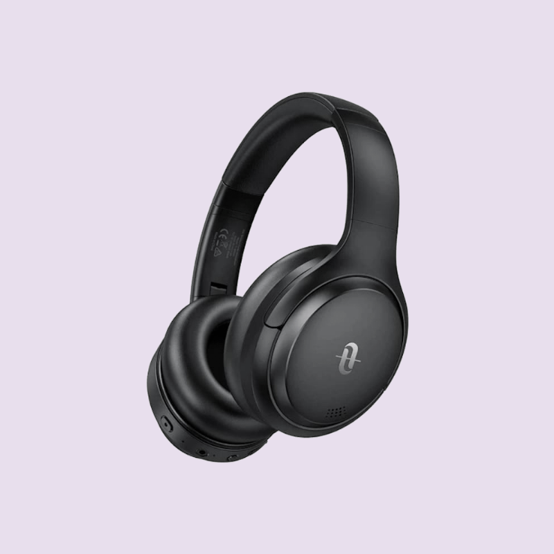 TAOTRONICS ACTIVE NOISE CANCELLING WIRELESS BLUETOOTH 5 UP TO 30 HOURS BATTERY HEADPHONES – BLACK